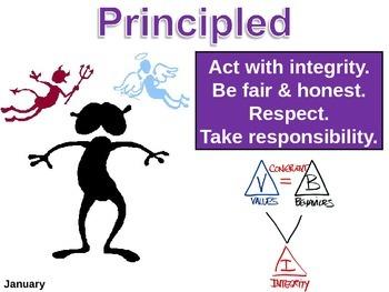IB Learner Profile - 5 of 10 - PRINCIPLED Lesson Plan