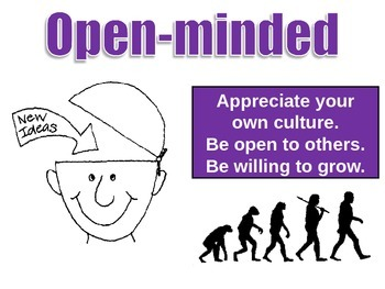 IB Learner Profile - 6 of 10 - Open-minded