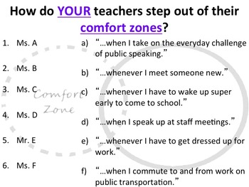 IB Learner Profile - 8 of 10 - RISK-TAKER Lesson