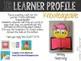 "IB Learner Profile Attribute Knowledgeable ""Craftivity"""