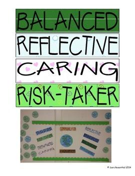 IB Learner Profile Caught You Bulletin Board