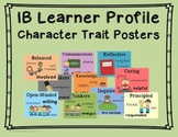 IB PYP Learner Profile Character Traits Posters