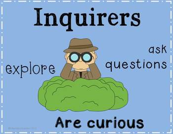IB PYP Learner Profile Char... by Mom2punkerdoo | Teachers Pay ...