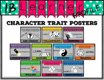 ib learner profile my personal traits essay Template 1: class learning profile  even for the sake of just one learner,  helen—personal concerns, often distracted.