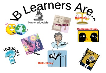 IB Learner Profile - Classroom Poster
