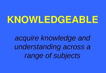 IB Learner Profile - Classroom Signs & Slideshow