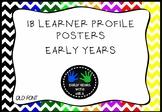 IB PYP Learner Profile Display - QLD Font