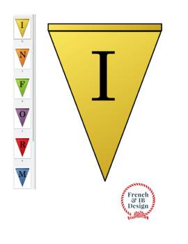 IB Learner Profile Pennants FR - Bannières du profil de l'apprenant IB