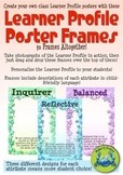 IB Learner Profile Poster Frames with Descriptions - Stars
