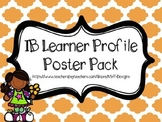 IB Learner Profile Poster Pack in Chevron and Quatrefoil