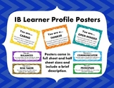 IB Learner Profile Poster Signs