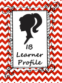 IB Learner Profile Poster with description (International
