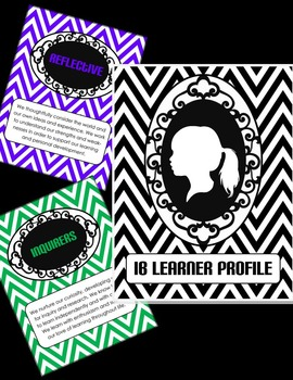 IB Learner Profile Posters -- Chevron