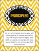 IB Learner Profile Posters -- Chevron