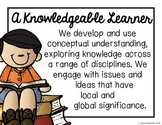 IB Learner Profile Posters (A Knowledgeable Learner)