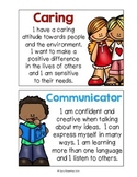 IB Learner Profile Posters: Kid Friendly Language