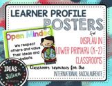 IB Learner Profile Posters- Lower Primary