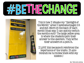IB Learner Profile Posters & Spotlight of the Month!