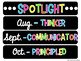 IB Learner Profile Posters & EDITABLE Spotlight of the Month!