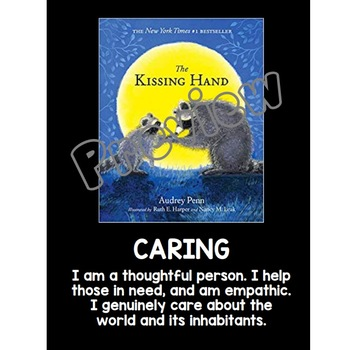 IB PYP Learner Profile Posters (With Gr. K-2 Books)