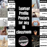 IB Learner Profile Posters for PYP, MYP and DP