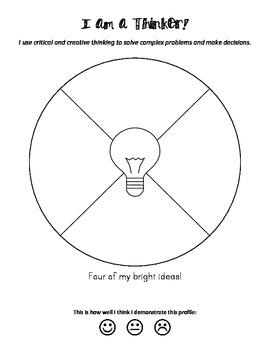 IB Learner Profile Reflection Journal
