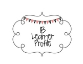 IB Learner Profile Signs Pirate Theme