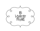 IB Learner Profile Signs (Plain)