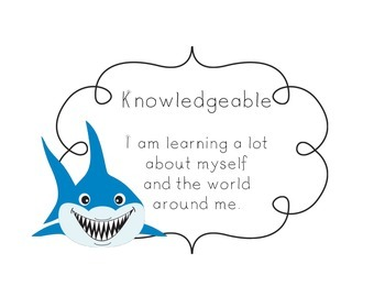 IB Learner Profile Signs Under the Sea Theme
