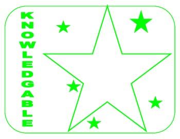 IB Learner Profile Stars