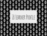 Black and White IB Learner Profile Traits