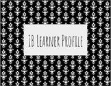 Black and White IB Learner Profile Traits