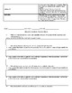 IB Learner Profile Traits Character Analysis Essay Directions and Planning Sheet