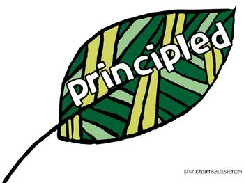 IB Learner Profile *new* Tree with leaves & Craftivity
