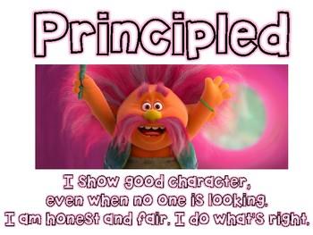 IB Learner Profile Trolls Themed Posters