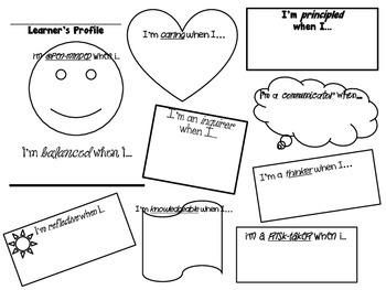 IB Learner Profile- Who Am I?