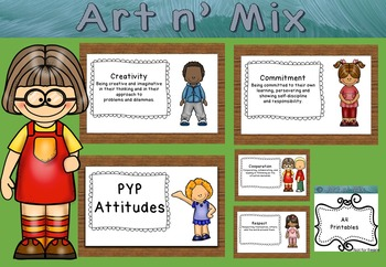 IB Learner Profile and Attitudes Cute Kids Combo Pack