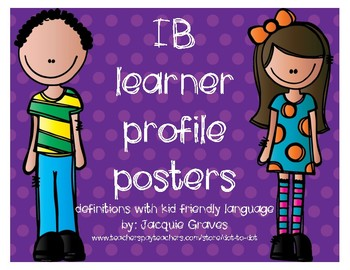 IB Learner Profile posters