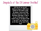 IB Learner Profiles Bulletin Board (Snapshot edition)