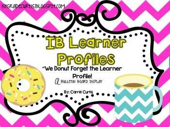 IB Learner Profiles: Coffee & Donuts Edition