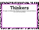 International Baccalaureate IB Learner Profiles Posters- ZEBRA (Small Print)