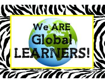 International Baccalaureate IB Learner Profiles Posters- Z