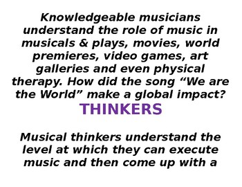 IB Learner Profiles for Musicians