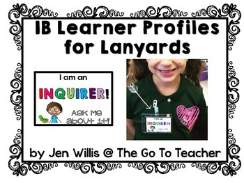 IB Learner Profiles for Student Recognition