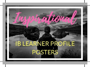 IB - Learner profile bundle pack (all 10 posters included!)