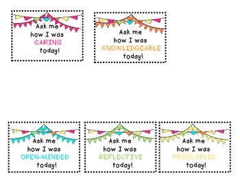IB Learner profile brag tags