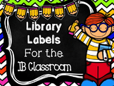 IB Library Labels