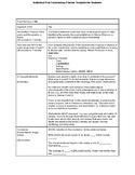 IB Literature IOC Planner