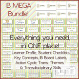 IB MEGA Bundle: Attitudes and Attributes, Key Concepts, Student Checklist & MORE