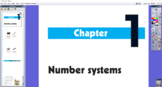 IB MYP 1 Mathematics - Chapter 1: Number Systems Flipcharts